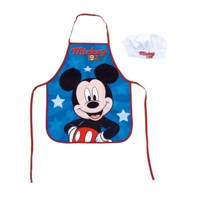 Conjunto delantal y gorro cocina Mickey Mouse Disney