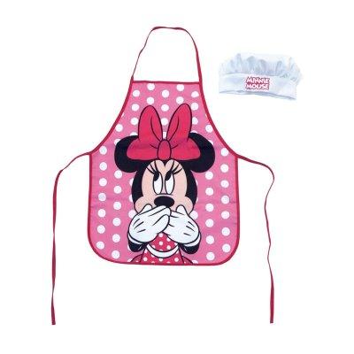 Conjunto delantal y gorro cocina Minnie Mouse Disney