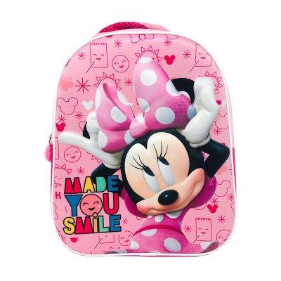 Wholesaler of Mochila 3D 33cm Smile Minnie Mouse