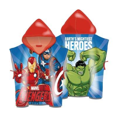 Poncho toalla con capucha Los Vengadores Héroes