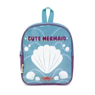 Mochila infantil brillante Mermaid 28cm