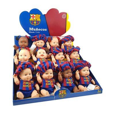 Muñecos Deportistas Los Peques del Barça 21cm