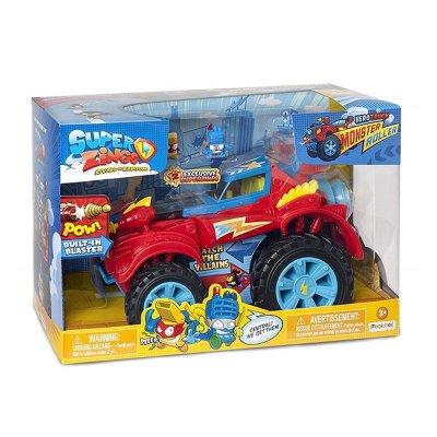 Superzings Hero Truck Monster Roller