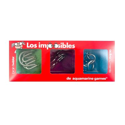 Wholesaler of Juego Los imposibles en metal de Aquamarine