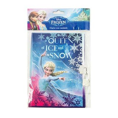 Diario infantil con candado Frozen Queen of Ice and Snow