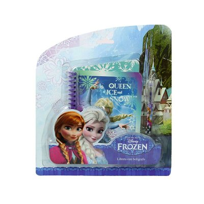 Wholesaler of Frozen spiral notebook + pen