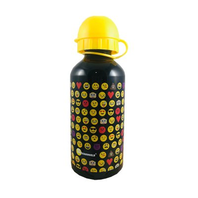 Wholesaler of Botella aluminio 350ml Emoji - negro