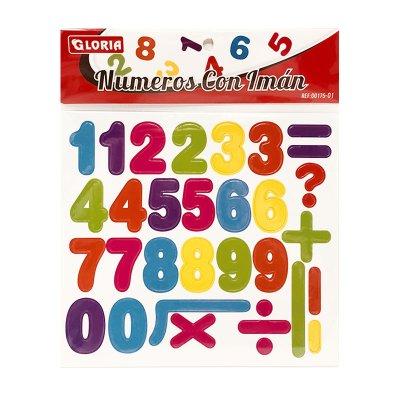 Sobre números c/imán