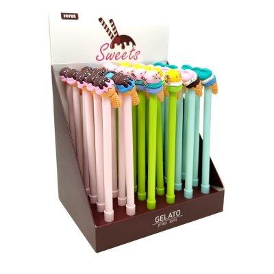 Bolígrafo con decoración de helados