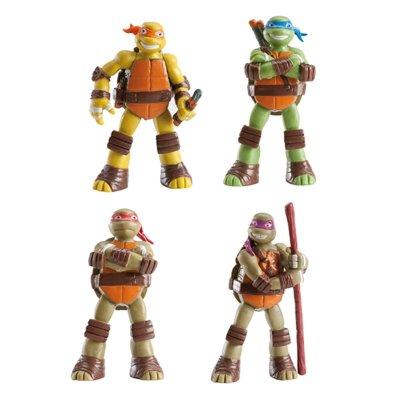Figuras Las Tortugas Ninja TMNT 4 modelos
