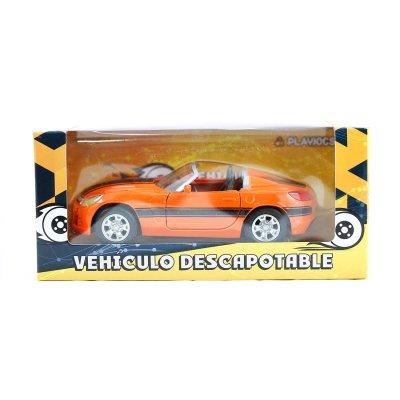 Miniatura coche descapotable GT-0136 - modelo naranja