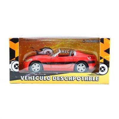 Miniatura coche descapotable GT-0136 - modelo rojo