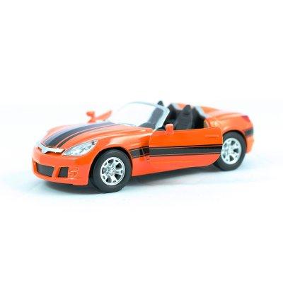 Wholesaler of Miniatura coche descapotable GT-0136 - modelo naranja