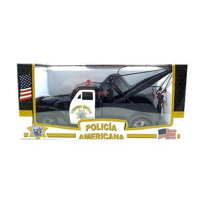 Miniatura coche Policía Americana Grúa GT-1003