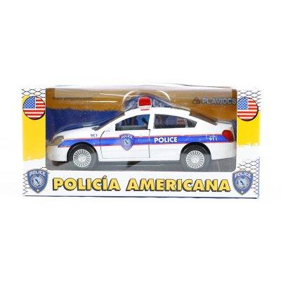 Miniatura coche Policía Americana GT-1650