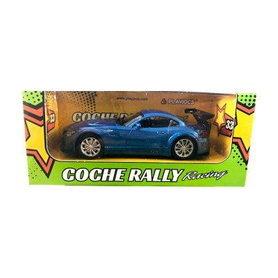 Miniatura coche Rally Racing 33 GT-2678 - azul