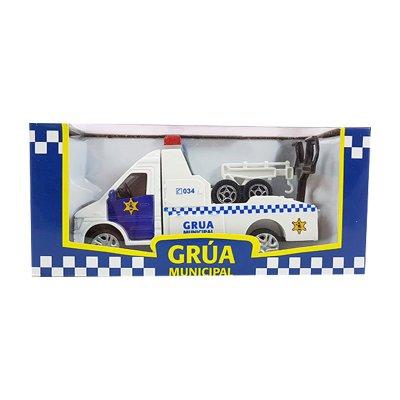 Wholesaler of Miniatura vehículo grúa municipal GT-2847