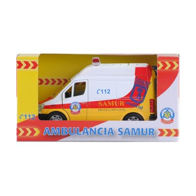 Wholesaler of Miniatura ambulancia SAMUR GT-3694