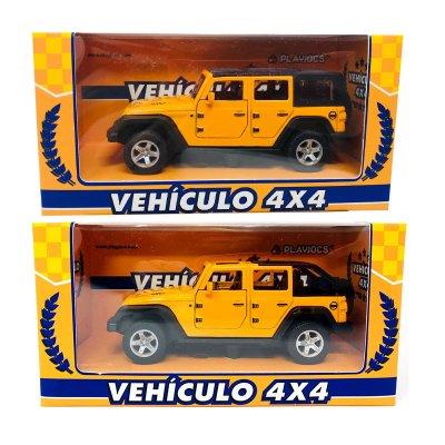 Miniatura vehículo 4x4 GT-8014 - naranja
