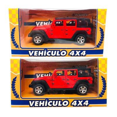 Miniatura vehículo 4x4 GT-8014 - rojo