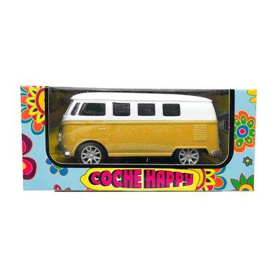 Miniatura furgoneta americana Happy GT-8018 - amarilla