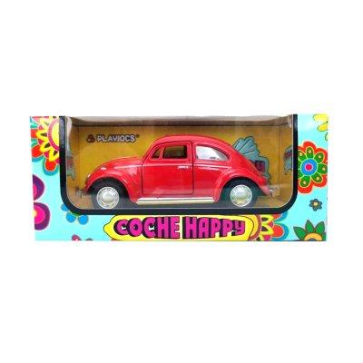 Miniatura vehículo coche Happy GT-8018 - rojo