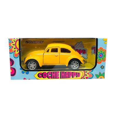 Miniatura vehículo coche Happy GT-8018 - amarillo