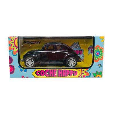 Miniatura vehículo coche Happy GT-8018 - negro