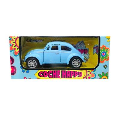 Miniatura vehículo coche Happy GT-8018 - azul