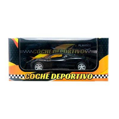 Wholesaler of Miniatura vehículo coche deportivo GT-8019 - negro