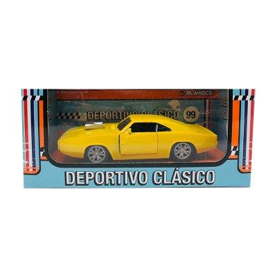 Wholesaler of Miniatura vehículo deportivo clásico 99 GT-8020 - amarillo