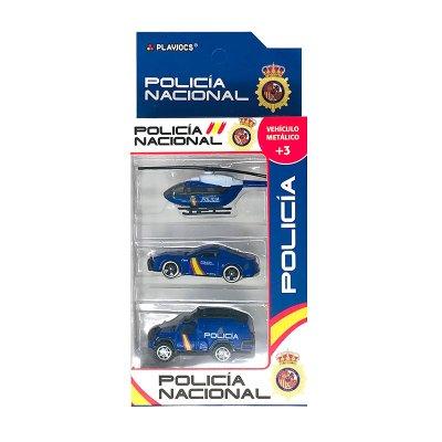 Wholesaler of Set miniaturas vehículos Policía Nacional GT-8042 - modelo 1