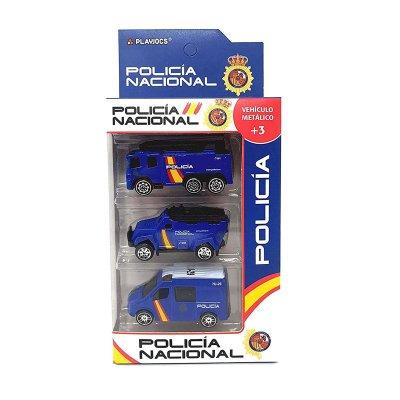 Wholesaler of Set miniaturas vehículos Policía Nacional GT-8042 - modelo 2