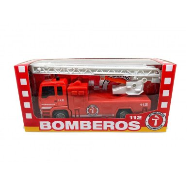 Miniatura camión de bomberos GT-8048