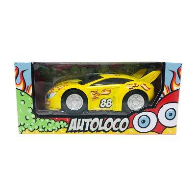 Wholesaler of Miniatura vehículo Autoloco GT-8070 - amarillo