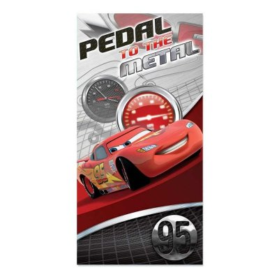 Wholesaler of Toalla algodón Cars Pedal to the Metal