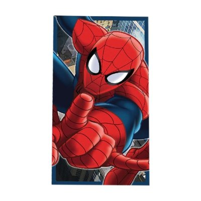 Toalla algodón Spiderman