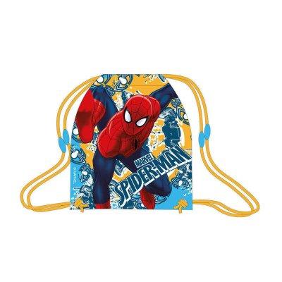 Saco pequeño Spiderman 40cm - amarillo