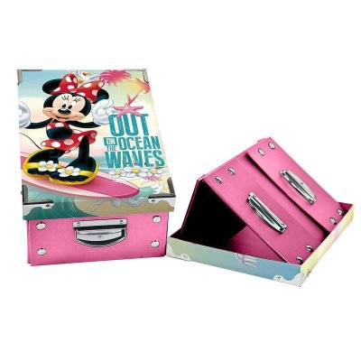 Caja plegable Minnie Mouse 31.5x21x13cm