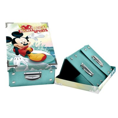 Caja plegable Mickey Mouse 31.5x21x13cm