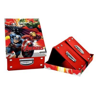 Caja plegable Los Vengadores 31.5x21x13cm