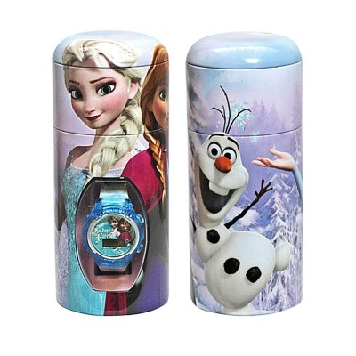 Reloj digital Frozen Disney c/caja regalo