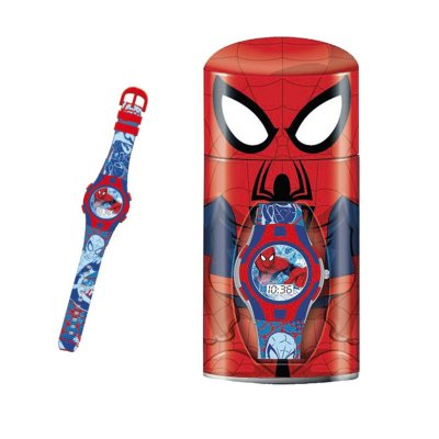 Reloj digital Spiderman c/caja regalo
