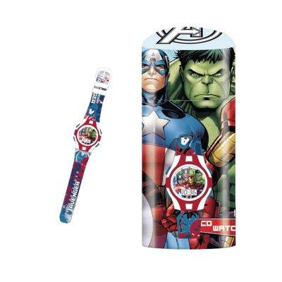 Reloj digital Los Vengadores c/caja regalo