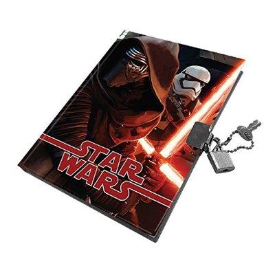 Diario con candado Star Wars Episodio VII