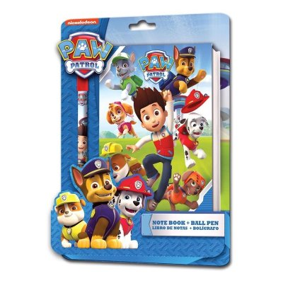 Wholesaler of Paw Patrol notebook + pen