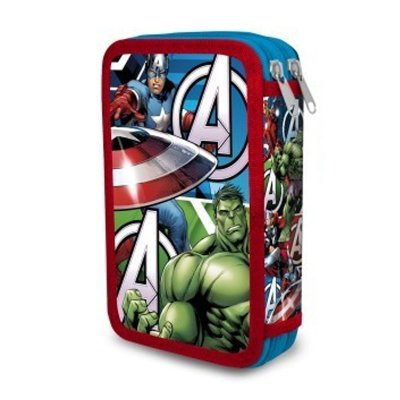Wholesaler of Doble pencil case The Avengers