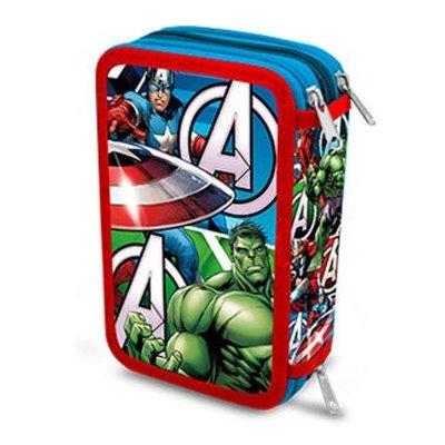 Wholesaler of Triple pencil case The Avengers