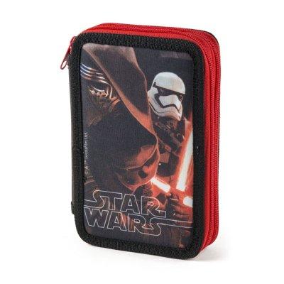 Estuche relleno 2 cremalleras Darth Vader Star Wars