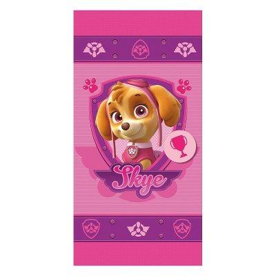 Toalla microfibra Skye Paw Patrol (La Patrulla Canina) rosa